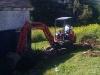 Excavating the barn