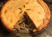 Tipsy Tourtière – a new tradition?