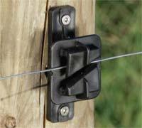 Diy Electric Fence Insulators Tipsy Toad Grove Farm