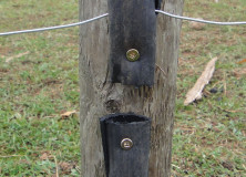 DIY Electric Fence Insulators